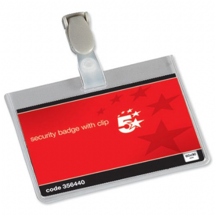 5 Star Security Badge